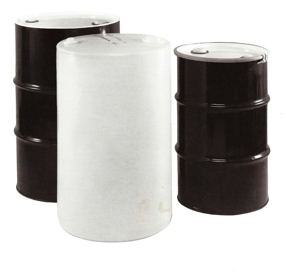 55 gallon tighthead steel composite drums yankee for Metal 55 gallon drum