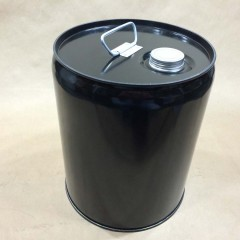 5 gallon Unlined Steel Pail with Push/Pull Spout