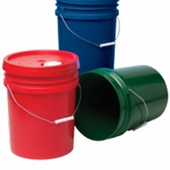 Are your plastic pails and buckets food grade or food safe?
