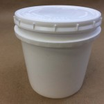 37 Ounce Vapor Lock With White Lid