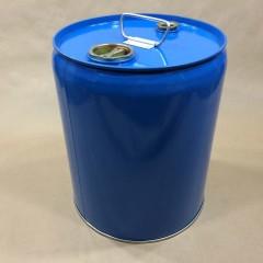 5 Gallon Blue Closed Head Steel Pails/Drums