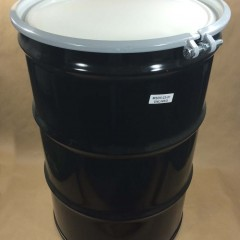 55 Gallon Steel Drum with Bolt Ring