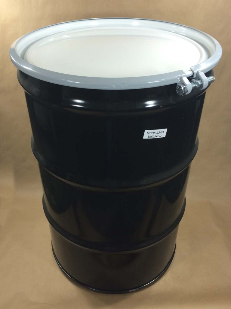 Steel Drums For Storage And Shipping