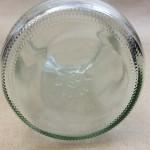 32 Oz Straight Sided Glass Jar Anti-Skid Textured Bottom