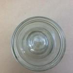 32 Oz/Quart Straight Sided Glass Jar Top View