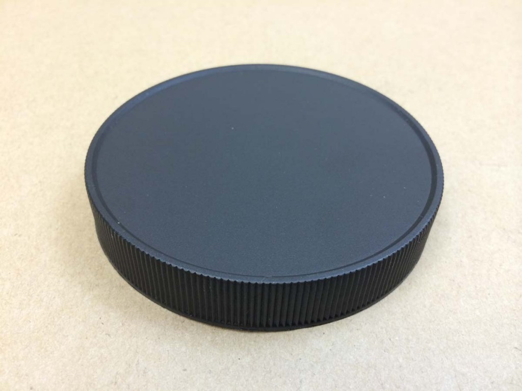 Foam lined continuous thread plastic polypropylene caps