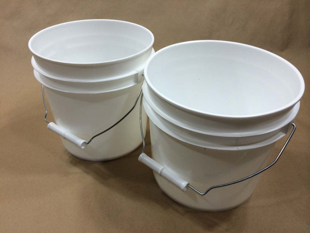Plastic Buckets For Tropical Ice Or Slushie Mixes Yankee