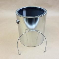 Gold Epoxy Phenolic Lined and Grey Epoxy Phenolic Lined Paint Cans
