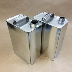 F Style Tin Cans for Packaging 2 Part Epoxy Resin Systems