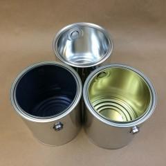 Empty Gallon Paint Cans