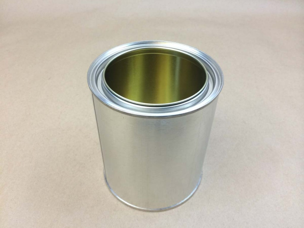 Gold Lined Non Pigmented Epoxy Phenolic Lined Tin Cans