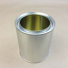 Gold Lined (Non-Pigmented) Epoxy Phenolic Lined Tin Cans