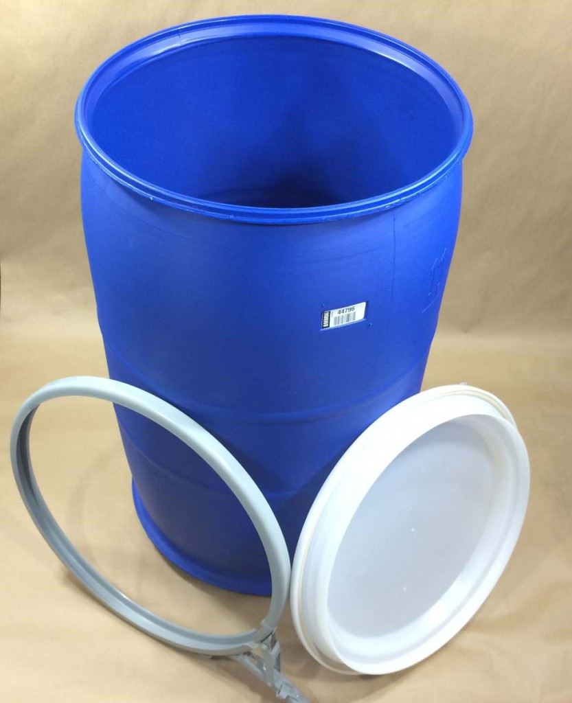 Plastic Drums With Lids And Locking Rings