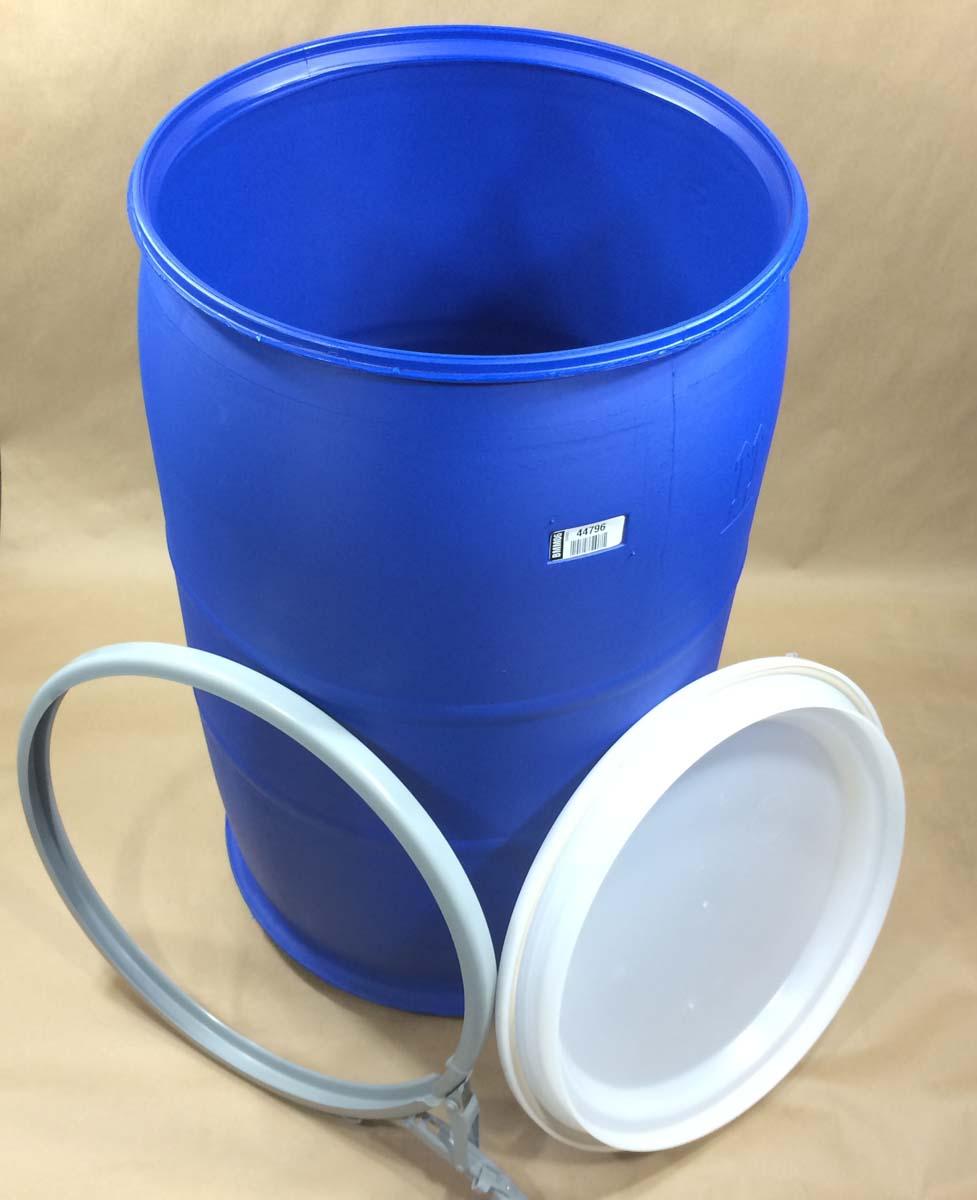 30 Gallon Oh Plastic Drum Cover Off Van30blna Yankee