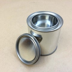 Metal 1/2 Pint Paint Cans for Paints and Adhesives