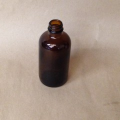 Glass Medicine Bottle