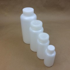 Lab Quality Plastic Bottles with Leakproof Caps