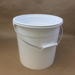 Plastic Pails with 50, 60 and 65 MIL Thicknesses for Light Duty Applications
