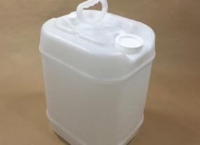 5 Gallon Rectangular Tight Head Plastic UN Drums