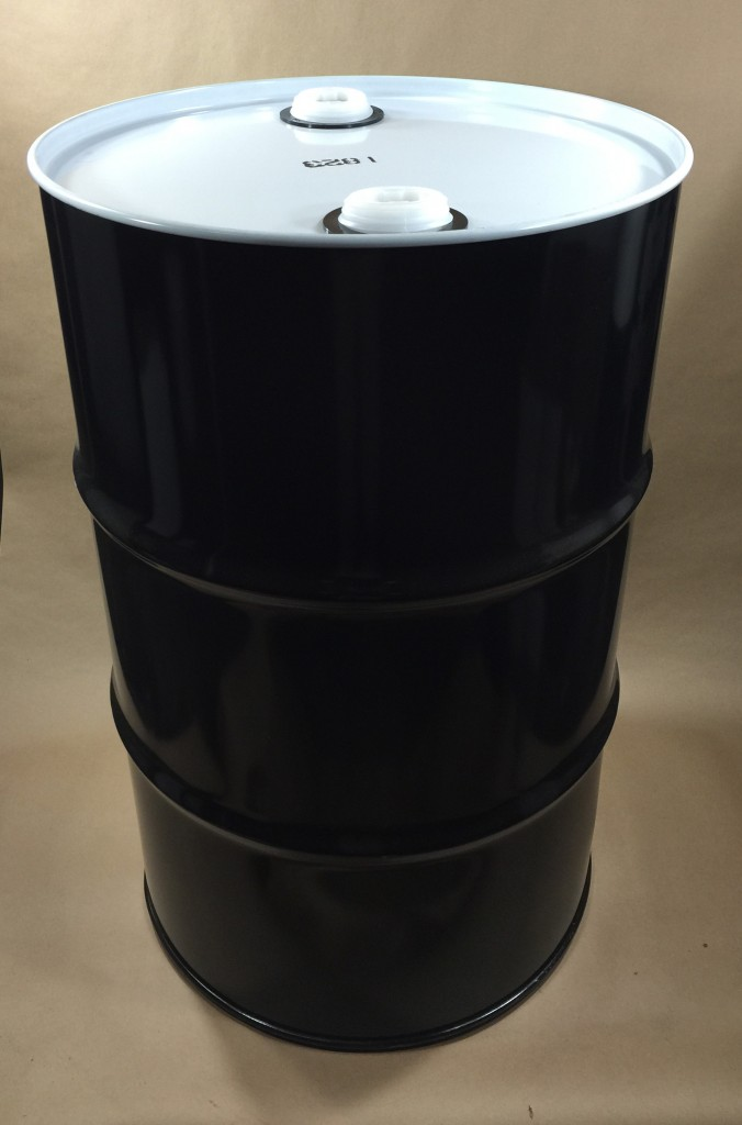 how to open a 55 gallon plastic drum