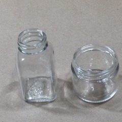 Glass Sample Bottles & Jars