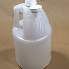 4 x 1 Gallon Tamper Evident  Jugs In a UN4G Package with a 4/200C Reshipper Box
