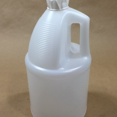 4 x 1 Gallon Tamper Evident Jugs in a UN4G Package with a 4/275C Reshipper Box