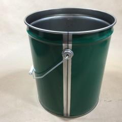 Light Weight 29 GA Green Steel Pail – No UN