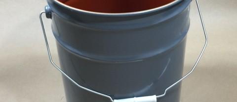 5 Gallon Steel Open Head Lined UN Pail