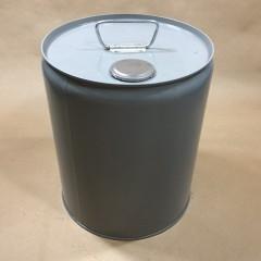 Green Phenolic Lined 5 Gallon Steel Tight Head Pail/Drum