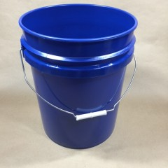 5 Gallon Plastic Pails in Red, Yellow or Blue